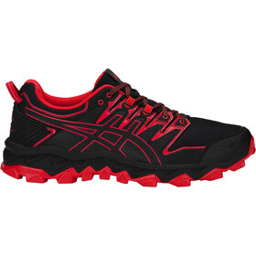 asics M's Gel-FujiTrabuco 7 Shoes Black/Classic Red